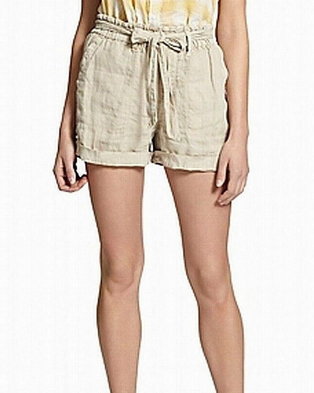 Sanctuary Womens Linen Beach Casual Shorts
