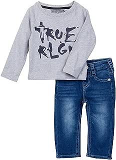 Boy's Long Sleeve Shirt & Jeans Set