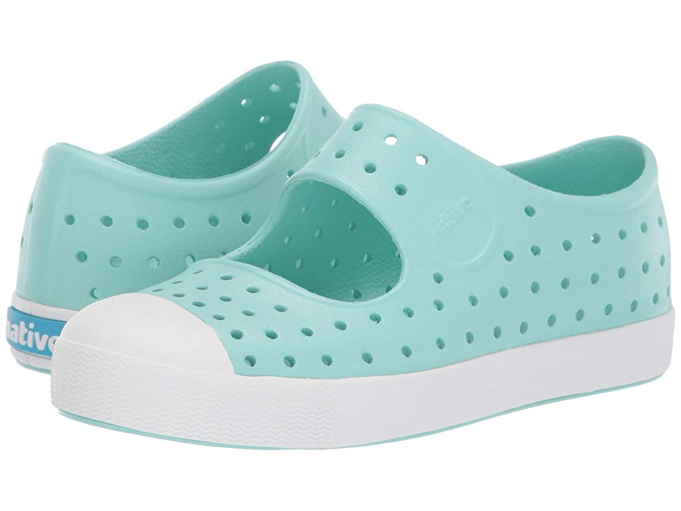 Native Kids Shoes Juniper (Little Kid) (Hydrangea Blue/Shell White) Girls Shoes