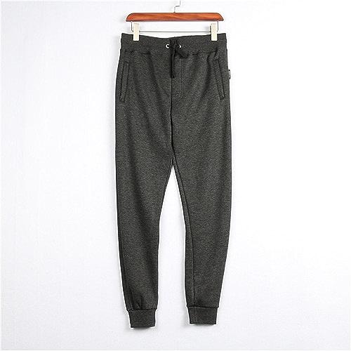 Auto - Motion wei Pantalon Hommes Hiver Chaud Pantalons Pantalon wei du Cachemire, Sports,gris foncé,3XL