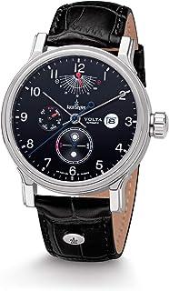 Kronsegler - Volta - Reloj automático de acero negro