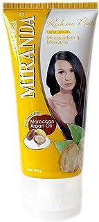 MIRANDA ミランダ Hair Mask ヘアマスク モロッカンアルガンオイル主成分のヘアトリートメント 160g Kukui nut クミリ [海外直送品]