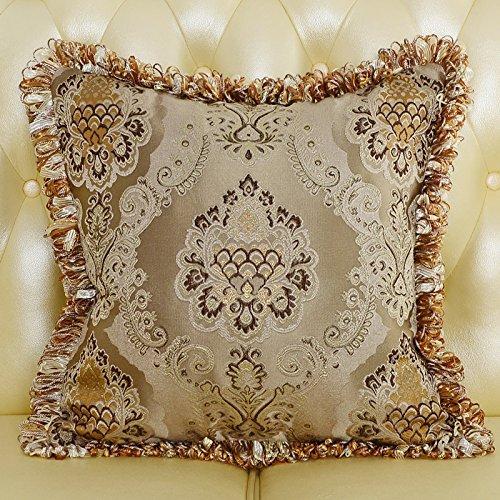 baoz engry une grande taille coussin coussin de luxe au style européen Canapé Coussin Core Paquet 45x45cm pillowcase pillow core chocolat