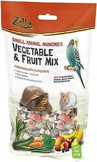 Zilla Small Animal Munchies - Vegetable & Fruit Mix