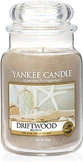 Yankee Candle bougie grande jarre «Bois flotté», marron