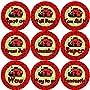 144 Lovely Ladybirds 30mm Children's Bug Reward Stickers for Teacher, Parent