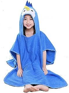 penguin baby hooded towel