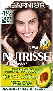[Nutrisse] 4.12メディアD / Brwn永久染毛剤Nutrisseガルニエ - Garnier Nutrisse 4.12 Medium D/Brwn Permanent Hair Dye [並行輸入品]