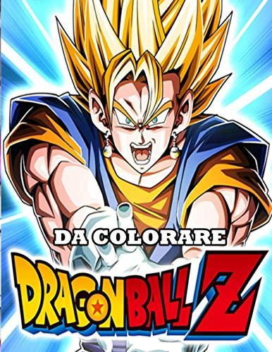 dragon ball z da colorare: Dragon Ball Libro Da Colorare Per Bambini E Adulti Con Immagini Di Alta Qualità , 50 pagine da colorare