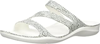 Crocs Women's Swiftwater Graphic Flat Sandal Sport
