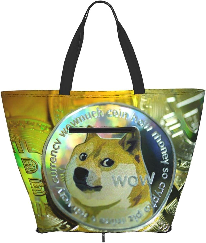 Shoulder Tote Recommendation Bag Dogecoin Shiba Inu Bitcoin Handle New arrival Purse Top Sa