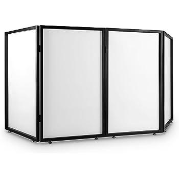 FrontStage Facade 4 Cabina metálica para DJ (4 Paneles traslúcidos, 2 módulos, transportable, 23 kg, 120 cm de Altura, bisagras metálicas, 4 pies de Rosca): Amazon.es: Electrónica