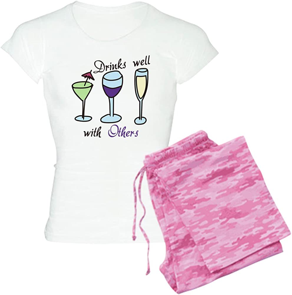 CafePress Drinks Well with PJs Now free Popularity shipping Light Others Women's