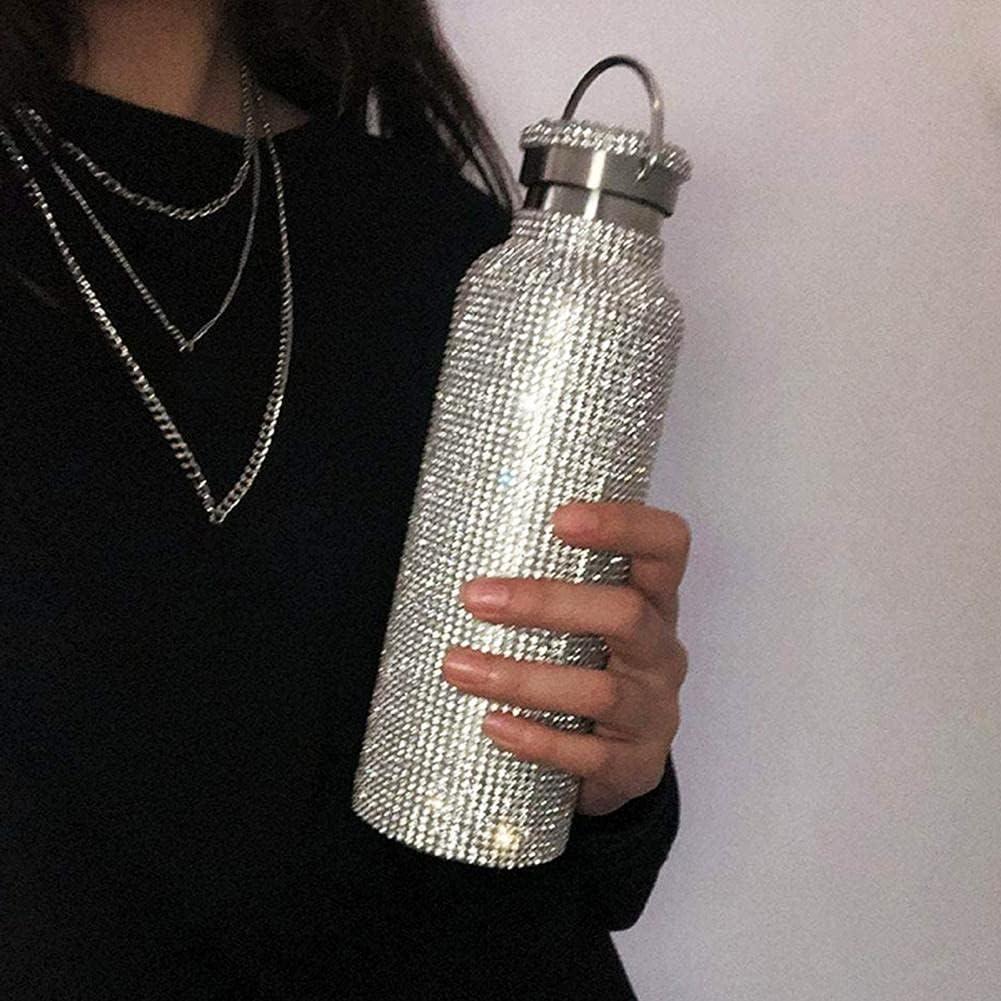 Sparkling Diamond Stainless Minneapolis Mall Ranking TOP2 Steel Bottle Insulated Vacuum Water