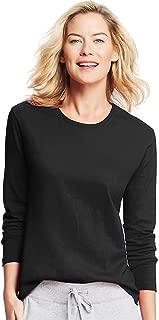 Hanes Women's Long-Sleeve Crewneck T-Shirt