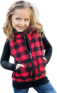 toddler girl black and red plaid shirt