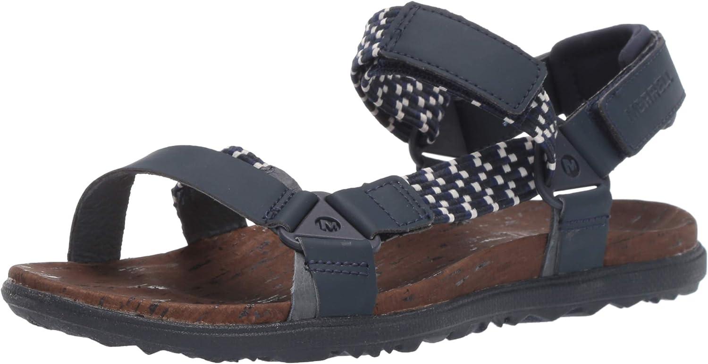 Merrell Women's Around Town Sunvue Woven Flat Sandals