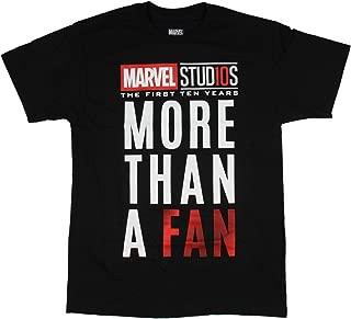 Studios The First Ten Years More Than A Fan Adult Men's T-Shirt