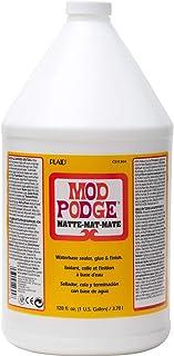 Mod Podge CS11303 Sellador a Base de Agua, 1 Galón, Mate, 1