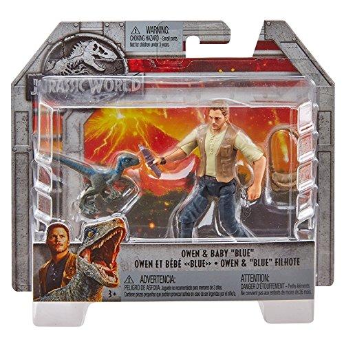 Mattel Jurassic World FMM01 - Figur Owen und Baby Blue