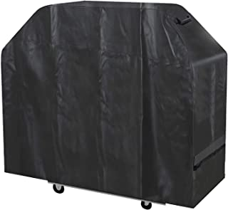 Stanbroil Waterproof Heavy Duty BBQ Grill Cover, Fits Weber Genesis II Gas Grill Model E-610, Summit Gas Grill Models E-420, E-470, S-420 and S-470, and othe Similar Size Grill, X-Large,Black