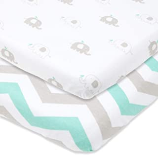 Travel Crib Fitted Sheets Compatible With Guava Lotus, Baby Bjorn, Dream on Me Travel Crib Light Playard – Fits Perfectly ...