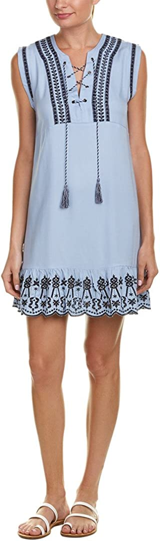 BB Dakota by Industry No. 1 Steve Madden Shift Women's Dress Paige Embriodered Same day shipping