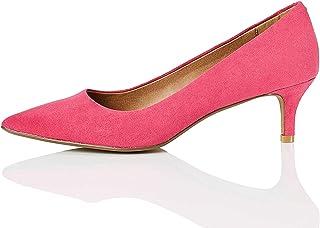 Amazon.es: Rosa Zapatos de tacón Zapatos para mujer