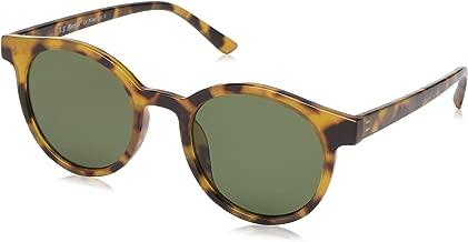 A.J. Morgan Sunglasses Unisex-Adult Low Key 84008-ATO Round Sunglasses, Antique Tortoise, 51 mm
