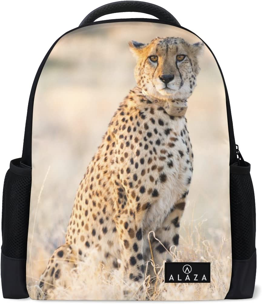 Cheetah New products world's highest quality popular Farm Print Laptop Backpack Bookbag Tr School Casual High Limited Special Price
