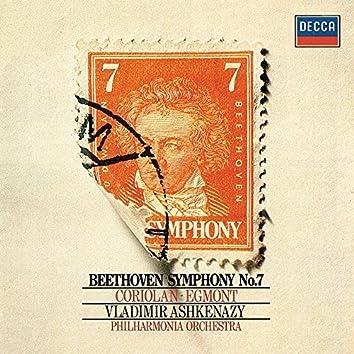 Beethoven: Symphony No. 7; Overtures Coriolan & Egmont