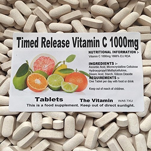 The Vitamin Timed Release Vitamin C 1000mg (365 Tablets - Bagged)