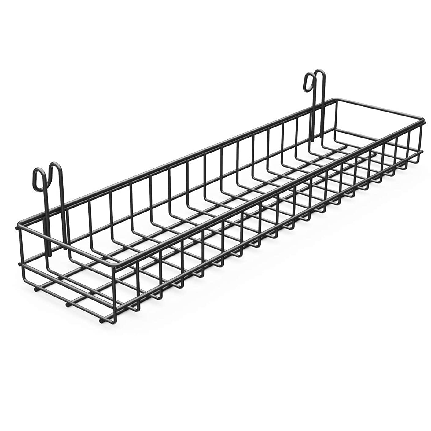 Afaris Hanging Basket for Wall Wire Grid Panel, Wire Basket Iron Hanging Organizer