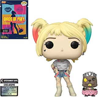 Birds of Prey Harley Quinn and Beaver Pop! Vinyl Figure with Collectible Card - Entertainment Earth Exclusive - and with 1...