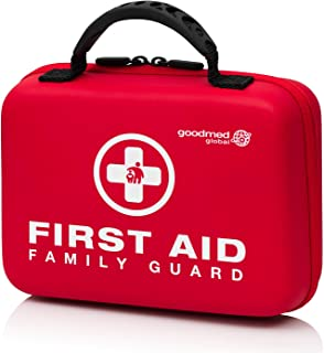 Family Guard 𝗙𝗶𝗿𝘀𝘁 𝗔𝗶𝗱 𝗞𝗶𝘁, 180Pieces, Essential Care For Families To Treat Minor Injuries At Home, Sporting Ev...