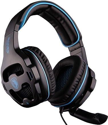 [L'ultima Versione Cuffie Gaming per PS4 Xbox one ] SADES SA810 Cuffie da Gioco con Microfono Stereo Bass Regolatore di Volume per PS4 Xbox one PC Cellulari - Trova i prezzi più bassi