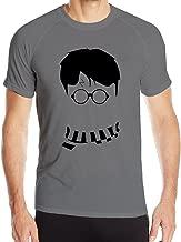 DETED Men's Harry Potter Poster Quick Dry Sport T-shirt DeepHeather
