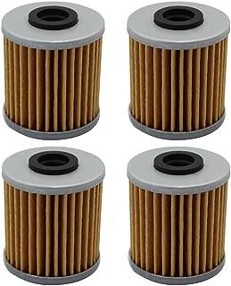Cyleto Oil Filter for KAWASAKI KX250 2006-2008 / KX250F KX 250F 2004-2016 / KX450F 2016 (Pack of 4)