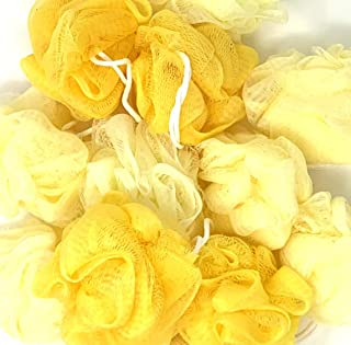 yellow loofah bulk