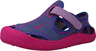 Nike Kids Sunray Protect Infant/Toddler Hydrangeas/Fire Pink/Comet Blue Girls Shoes