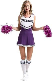 purple school uniform dress