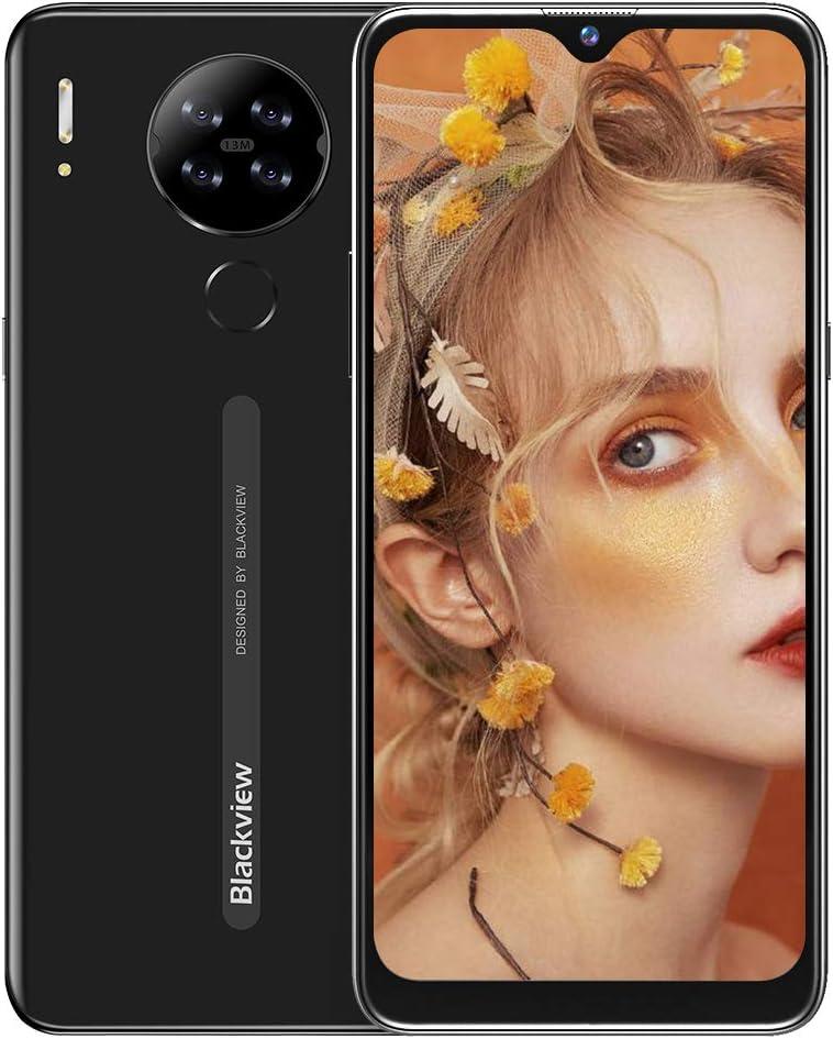 Teléfono Móvil Libres 4G, Blackview A80S Smartphone Libre,4GB+ 64GB, Android 10 Octa-Core, 6.21
