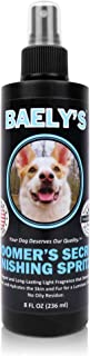 Baely's Finishing Spritz   Natural Freshening & Shining Spray for Pets   Conditioning Dog Grooming Spray, Dog Perfume, Dog Cologne & Pet Odor Eliminator   Detangles Your Dog's Coat & Hydrates the Skin