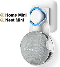Cozycase Soporte para Google Nest Mini, Google Home Mini, gestión de Cables incorporada sin Tornillos (Blanco)
