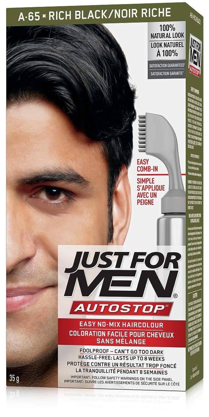 グローレンド彫刻家Just for Men AUTOSTOP色、リッチブラック