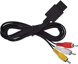 AV Cable Audio Video AV RCA Cable compatible with Nintendo Game N64 Cable
