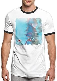 Frank Ocean Swim Good Men's Crew Neck Athletic Ringer Shirts Black