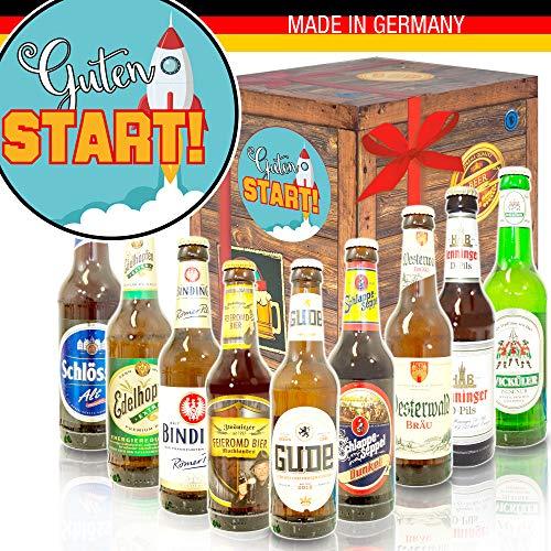 Guten Start - Deutsche Biersorten - Geschenke zum Start ins Berufsleben