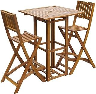 Tavoli Alti Da Esterno.Amazon It Tavoli Bar Alti Arredamento Da Giardino E Accessori Giardino E Giardinaggio