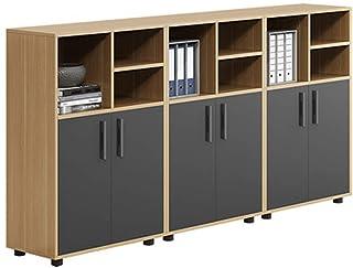 Caisson de Bureau Armoires de classement en bois Armoires à basse armoires Armoires de stockage Fichiers de données Tables...
